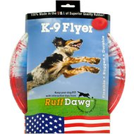 Ruff Dawg K9 Flyer Disc Dog Toy, Color Varies, Flyer