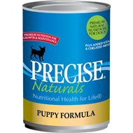 Precise Naturals Puppy Formula Canned Dog Food, 13.2-oz, case of 12