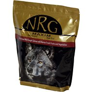 NRG Maxim Salmon & Veggies Dehydrated Raw Dog Food, 1.7-lb bag