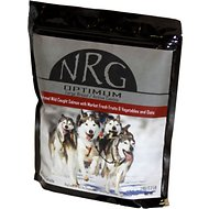 NRG Optimum Salmon & Veggies Large Breed & Active Canine Dehydrated Dog Food, 2.2-lb bag
