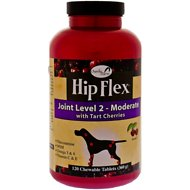 Overby Farm Hip Flex Joint Level 2 Moderate Care with Tart Cherries Dog Tablets, 120 count