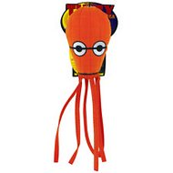 Tuffy's Jr. Squid Dog Toy, Orange
