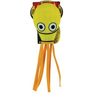Tuffy's Jr. Squid Dog Toy, Yellow