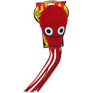 Tuffy's Ultimate Squid Dog Toy, Red