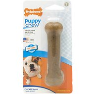 Nylabone Puppy Chew Bone Chicken Flavor Dog Toy, Small