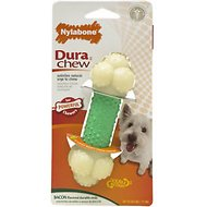 Nylabone DuraChew Double Action Chew Bacon Flavor Dog Toy, Regular