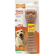 Nylabone DuraChew Bacon Flavor Bone Dog Toy, X-Large