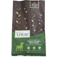 Nature's Logic Canine Venison Meal Feast Dry Dog Food, 26.4-lb bag