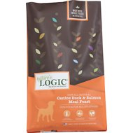 Nature's Logic Duck & Salmon Recipe Dry Dog Food, 26.4-lb bag