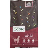 Nature's Logic Beef Recipe Dry Dog Food, 26.4-lb bag