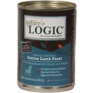 Nature's Logic Canine Lamb Feast Canned Dog Food, 13.2-oz, case of 12