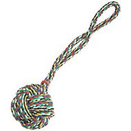 Zanies Monkey's Fist Knot Rope Dog Toy, 21-inch