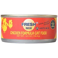 Artemis Fresh Mix Chicken Formula Canned Cat Food, 5.5-oz, case of 24