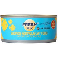 Artemis Fresh Mix Salmon Formula Canned Cat Food, 5.5-oz, case of 24
