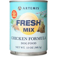 Artemis Fresh Mix Chicken Formula Canned Dog Food, 13-oz, case of 12