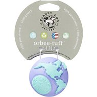 Planet Dog Orbee Pup with Treat Spot For Puppies, Lil' Teal/Purple