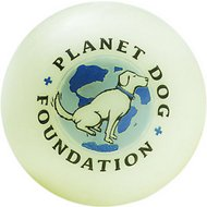 Planet Dog Glow For Good Ball For Dogs, 2.5-in