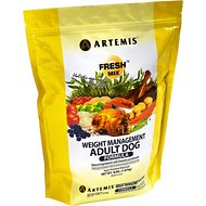 Artemis Fresh Mix Weight Management Adult Formula Dry Dog Food, 15-lb bag