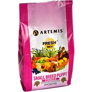 Artemis Fresh Mix Small Breed Puppy Formula Dry Dog Food, 4-lb bag