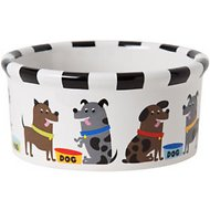 Signature Housewares Pooch Dog Bowl, Medium