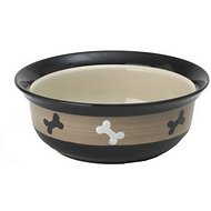 PetRageous Designs City Pets Bones Pet Bowl, 4 cup