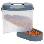 Bergan Travel Feeder, 5-lb storage