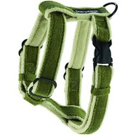 Planet Dog Cozy Hemp Adjustable Dog Harness, Apple Green, Medium