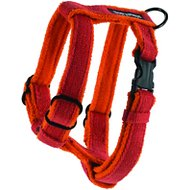 Planet Dog Cozy Hemp Adjustable Dog Harness, Orange, Medium