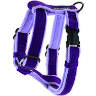 Planet Dog Cozy Hemp Adjustable Dog Harness, Purple, Medium
