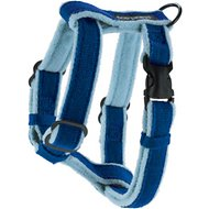 Planet Dog Cozy Hemp Adjustable Dog Harness, Blue, Medium