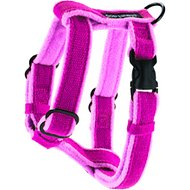 Planet Dog Cozy Hemp Adjustable Dog Harness, Pink, Medium