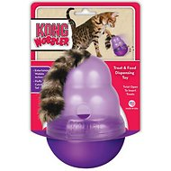 KONG Cat Wobbler Treat Dispenser
