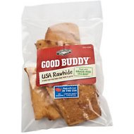 Castor & Pollux Good Buddy USA Rawhide Chips Dog Treats, 4-oz bag