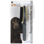 JW Pet Gripsoft Double Sided Brush