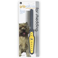 JW Pet Gripsoft Shedding Comb
