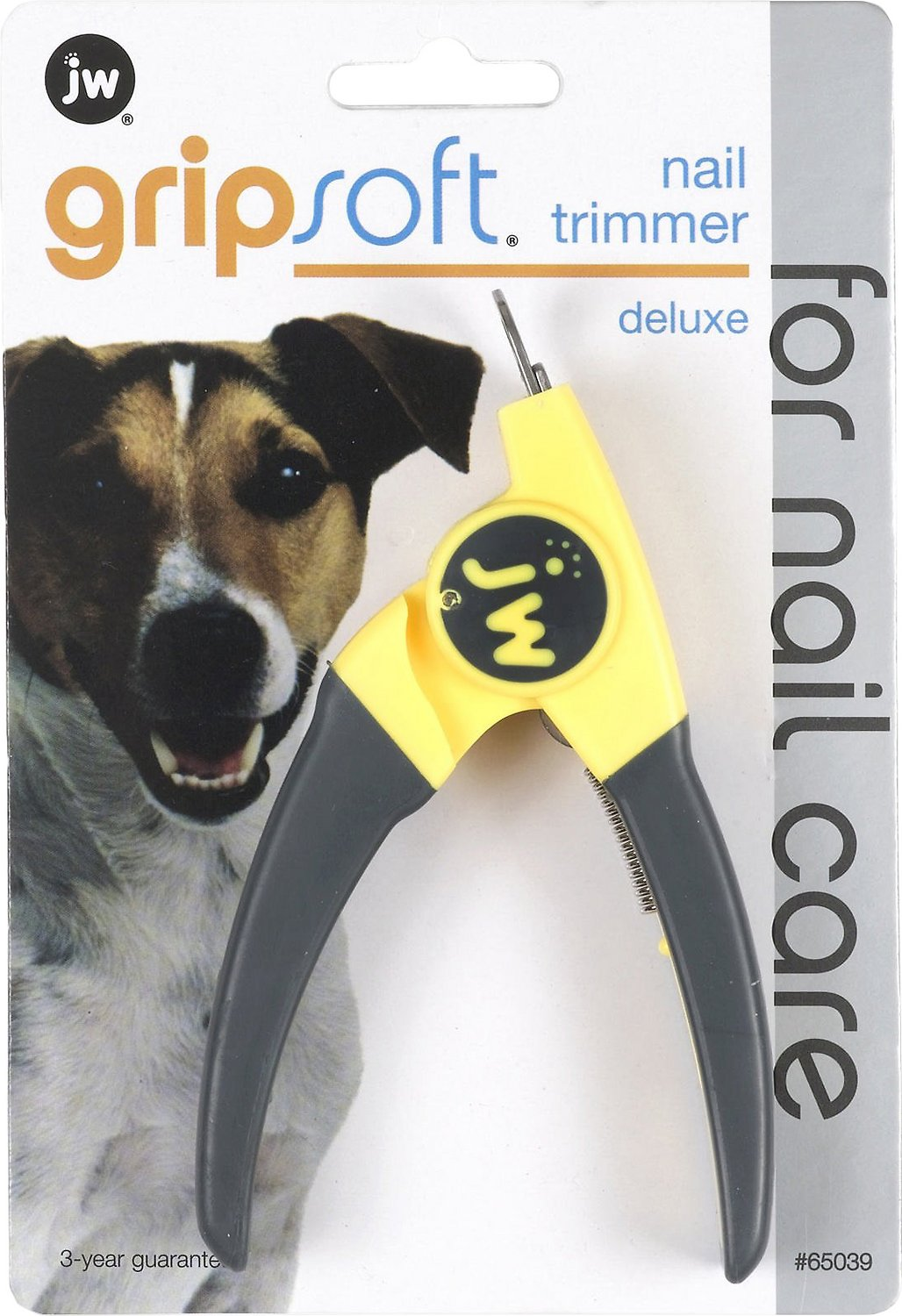 Jw Pet Gripsoft Deluxe Dog Nail Trimmer Deluxe Chewy Com