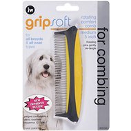 JW Pet Rotating Comfort Comb, Medium