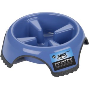 JW Pet Skid Stop Slow Feed Dog Bowl