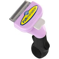 FURminator Long Hair deShedding Edge For Cats, Small