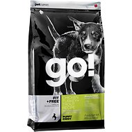 Go! Fit + Free Grain-Free Chicken, Turkey & Trout Puppy Recipe Dry Dog Food, 25-lb bag
