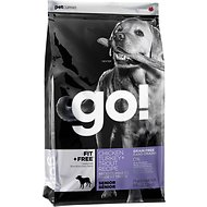 Go! Fit + Free Grain-Free Chicken, Turkey & Trout Recipe Senior Dry Dog Food, 25-lb bag