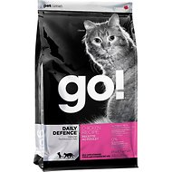 Go! Daily Defence Chicken Recipe Dry Cat Food, 4-lb bag