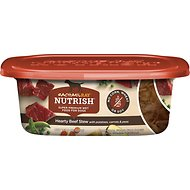 Rachael Ray Nutrish Naturally Delish Hearty Beef Stew Natural Wet Dog Food, 8-oz tub, case of 8