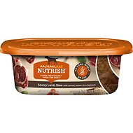 Rachael Ray Nutrish Naturally Delish Savory Lamb Stew Natural Wet Dog Food, 8-oz tub, case of 8