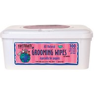 Earthbath Grooming Wipes for Puppies, 100 count
