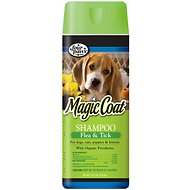 Four Paws Magic Coat Flea & Tick Shampoo for Dogs & Cats, 16-oz bottle