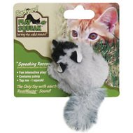 Play-N-Squeak Backyard Squeaking Raccoon Cat Toy
