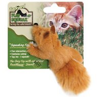 Play-N-Squeak Backyard Squeaking Fox Cat Toy