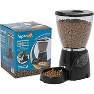 Aspen Pet LeBistro Portion Control Programmable Pet Feeder, 10-lb, Original