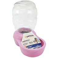 Petmate Pearl Replendish Waterer With Microban, Lady Pink, 0.5-gal